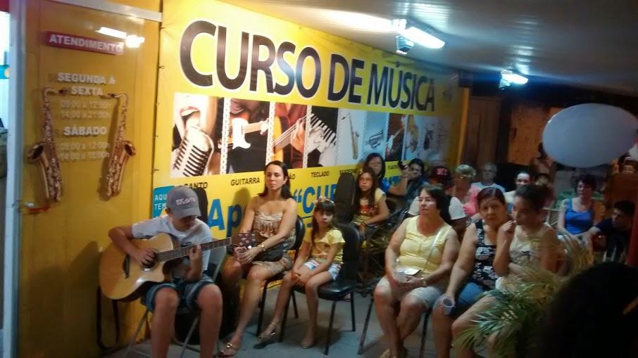Apresentação de alunos Unidade Campo Grande
